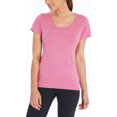 マリカ Marika レディース Tシャツ トップス Valery Shorts Sleeve T-Shirt Heather Pink Yarrow