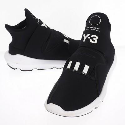【中古】ワイスリー Y-3 adidas アディダス ヨウジヤマモト Suberou  スベロウ ハイカット スニーカー BC0899 ブラック 黒 28.0cm メンズ 【ベクトル 古着】