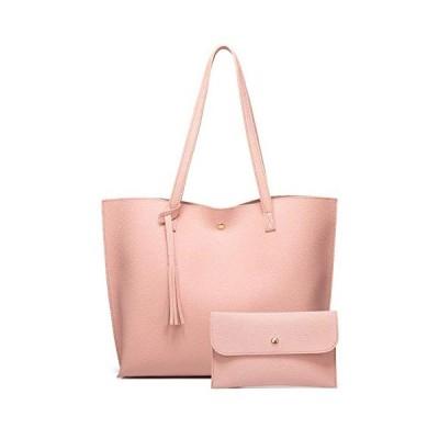 BlackWorks収納力抜群 選べる8色 レディース ミニポーチ付き ハンドバッグ トートバッグ 鞄 カバン 通勤 ビジネスバッグ 女性用