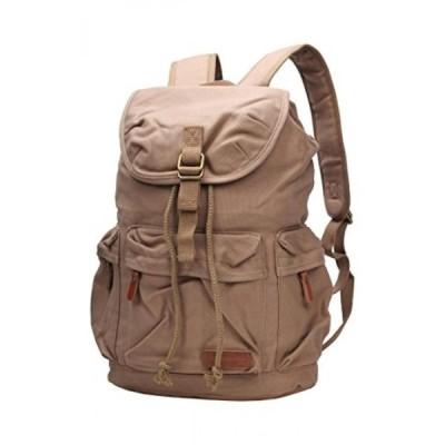 バックパックIblue Vintage Canvas Backpack Travel Hiking Rucksack Laptop Bag #B121 (coffee)正規輸入品