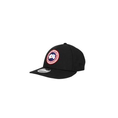 CANADA GOOSE / カナダグース メンズ : クラシックディスクキャップ / CLASSIC DISK CAP  ブラック 5419M 【正規取扱店】