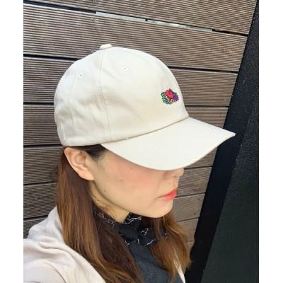 JUGLANS / FRUIT OF THE LOOM ANM EMB LOW CAP WOMEN 帽子 > キャップ