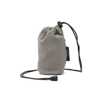 (STANDARD SUPPLY/スタンダードサプライ)スタンダードサプライ ポーチ STANDARD SUPPLY 巾着 小物入れ SIMPLICITY ネックポーチ 日本製 DRAW STRING POUCH S/ユニセックス グレー系1