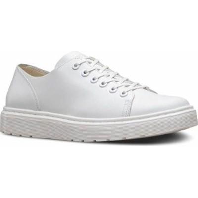 ドクターマーチン レディース スニーカー シューズ Dr. Martens Dante 6 Eye Raw Shoe White Venice
