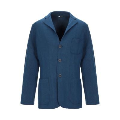 +39 MASQ テーラードジャケット ブルー L ウール 33% / レーヨン 33% / ポリエステル 24% / カシミヤ 10% テーラード
