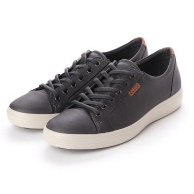 エコー ECCO Soft 7 M Sneaker (TITANIUM)