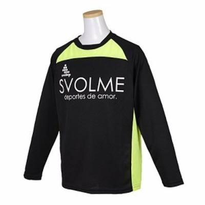 SVOLMEスボルメ 長袖プラシャツ 130cm BLACK SVOL-1423