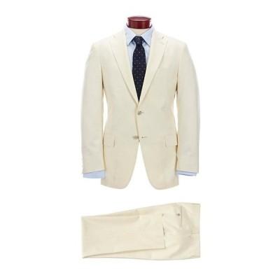 ハート シャフナー マルクス メンズ ジャケット・ブルゾン アウター Classic Fit Ecru Solid Wool Blend Suit