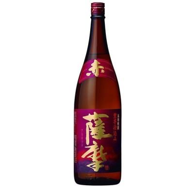 父の日 プレゼント 2021 芋焼酎 赤薩摩 25度 薩摩酒造 1800ml 1本