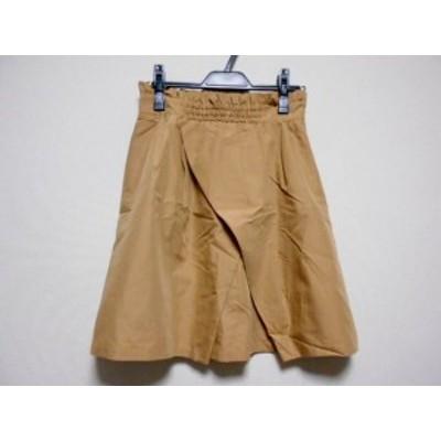 アプワイザーリッシェ Apuweiser-riche スカート サイズ2 M レディース ベージュ【中古】