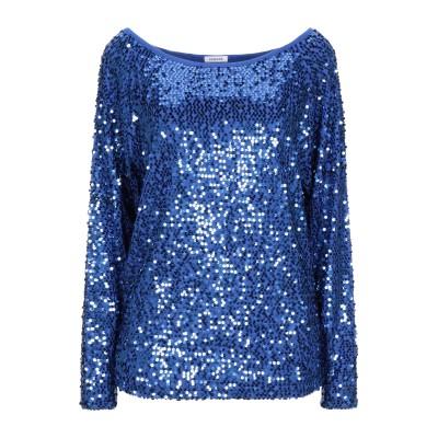 パロッシュ P.A.R.O.S.H. T シャツ ブルー XS レーヨン 95% / ポリウレタン 5% T シャツ