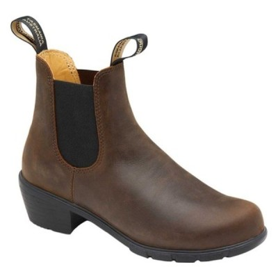 ブランドストーン ブーツ&レインブーツ シューズ レディース Heel Series Boot (Women's) Antique Brown Leather
