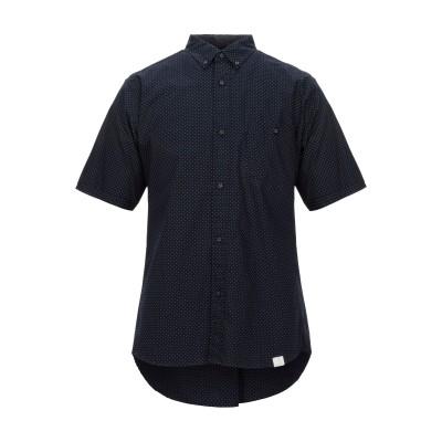WHITE MOUNTAINEERING シャツ ダークブルー 3 コットン 100% / ポリエステル シャツ