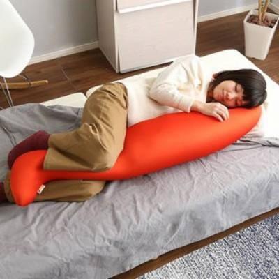 子供 こども キッズ 日本製 国産 大きい 腰 腰痛 北欧 おしゃれ 背もたれ 椅子 クッション カバー付き ロング型 ロング カバー 洗える 枕