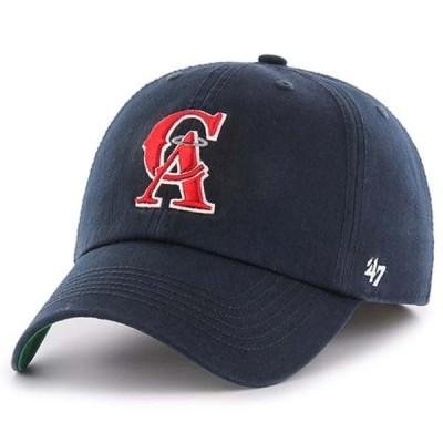 フォーティーセブン メンズ 帽子 アクセサリー California Angels '47 Cooperstown Collection Franchise Logo Fitted Hat