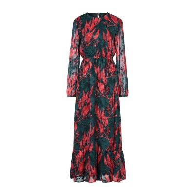 Y.A.S. ロングワンピース&ドレス ダークグリーン XS ポリエステル 100% ロングワンピース&ドレス