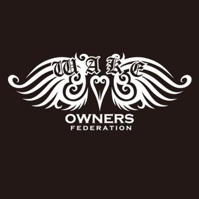 カッティングステッカー ダイハツ(DAIHATSU)WAKE ウェイク tribewing1 車 カー ステッカー  アクセサリー シール ガラス オーダーメイド  転写[◆]