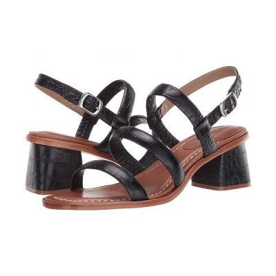 Bernardo バーナード レディース 女性用 シューズ 靴 ヒール Britney - Black Crocco Embossed