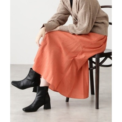スカート ◆フラワージャガードマーメイドマキシスカート