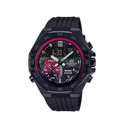 カシオ 腕時計 エディフィス TOMS Racing Limited Edition スマートフォンリンク ECB-10TMS-1AJR メンズ ブラック