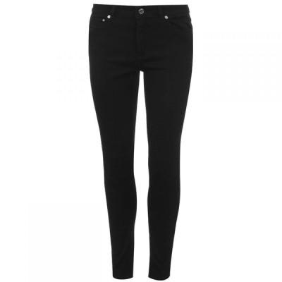 マイケル コース MICHAEL Michael Kors レディース ジーンズ・デニム スキニー ボトムス・パンツ Selma Skinny Jeans Black