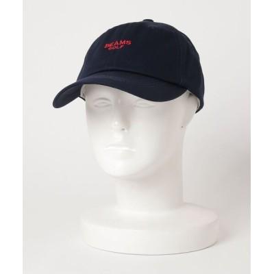 BEAMS MEN / BEAMS GOLF PURPLE LABEL / シーズンロゴ キャップ MEN 帽子 > キャップ