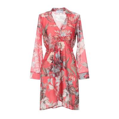 カオス KAOS ミニワンピース&ドレス レッド 42 ポリエステル 100% ミニワンピース&ドレス