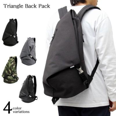 背負いバッグ リュック トラベル ビジネス 大容量 三角形 ビッグ カバン メンズ