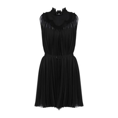 プラダ PRADA ミニワンピース&ドレス ブラック 40 ポリエステル 100% ミニワンピース&ドレス