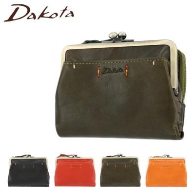 ダコタ 二つ折り財布 ミニ財布 レディース ピチカート 036362 Dakota   牛革 レザー ガマ口