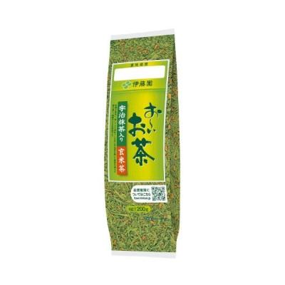 お〜いお茶 宇治抹茶入り玄米茶 200g 14694 伊藤園  ※軽減税率対象商品