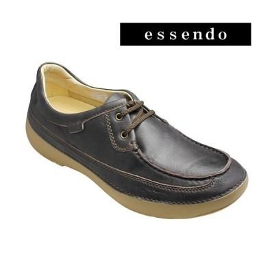リーガル ウォーカー/タウンカジュアル(2アイレット)/243w(ダークブラウン)/3E幅広/ソフトで軽量/REGAL WALKER/メンズ 靴