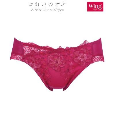 【Wing / Wacoal ウイング/ワコール】ショーツ 【きれいのブラ スキマフィットType】(M) スタンダードショーツ, Panties