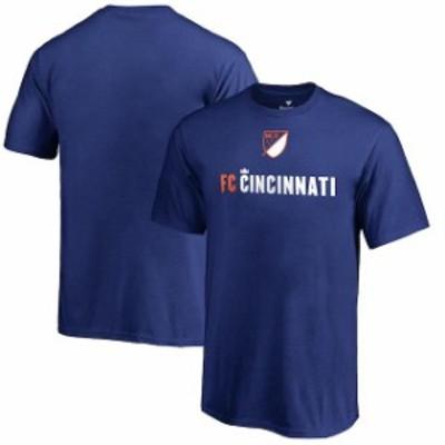 Fanatics Branded ファナティクス ブランド スポーツ用品  Fanatics Branded FC Cincinnati Youth Royal Shielded T-Shirt