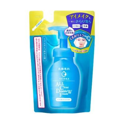 洗顔専科 メイクも落とせる泡洗顔料 つめかえ用 130ml