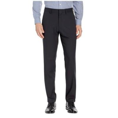 ユニセックス パンツ Solid Stretch Gab Modern Fit Flat Front Dress Pants