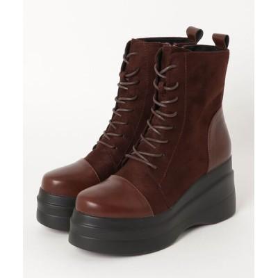 chumchum / yosuke / 厚底ブーツ WOMEN シューズ > ブーツ