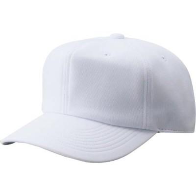 ゼット ヤキュウソフト 野球 六方ニット練習用キャップ 17SS ホワイト ボウシ(bh762-1100)