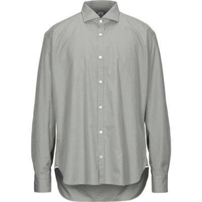 ダノリス DANOLIS メンズ シャツ トップス Solid Color Shirt Military green