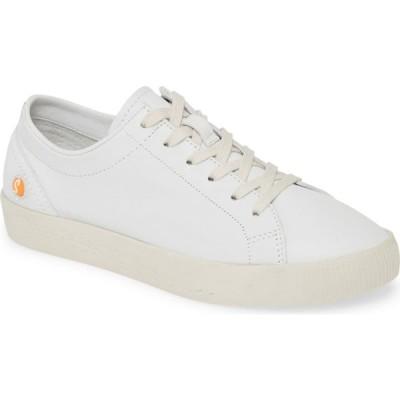 フライロンドン SOFTINOS BY FLY LONDON レディース スニーカー シューズ・靴 Fly London Sady Sneaker White Smooth Leather