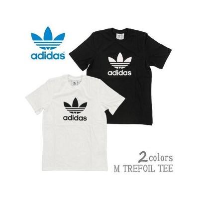 【2色展開】adidas Originals アディダス オリジナルス TREFOIL T-SHIRT CW0710 / CW0709 ホワイト / ブラック Tシャツ メンズ 半袖 トレフォイル ロゴ(adi08
