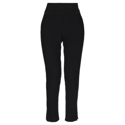 マニラ グレース MANILA GRACE パンツ ブラック 40 ポリエステル 88% / ポリウレタン 12% / コットン パンツ
