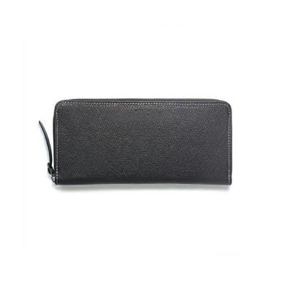 財布 松モデル レザー ラウンドファスナー スリム ロング ウォレット ブランド オリジナル 長財布