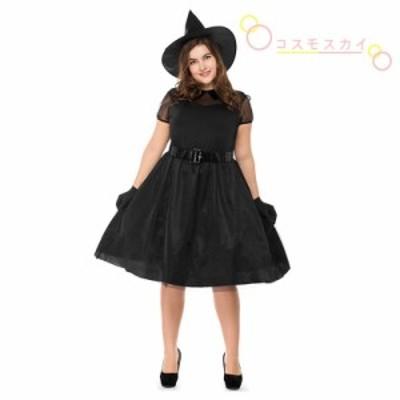 ハロウィン ワンピース 大人用 魔女 Halloween衣装 巫女 悪魔 コスプレ 大きいサイズ 幽霊 コスチューム 仮装 パーティー用 欧米風 クリ