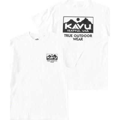 tシャツ Tシャツ KAVU/カブー TRUE LOGO TEE/トゥルーロゴTシャツ