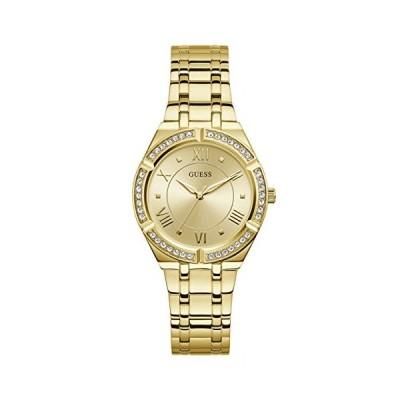 腕時計 ゲス GUESS GW0033L2 GUESS Women's Analog Quartz Watch with Stainless Steel Strap, Gold, 15.9 (Mode