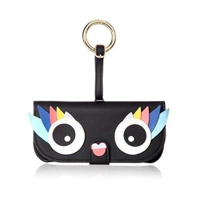 [アイフォリア] サングラスケース Glasses Case with Bag Holder-Black Owl(ブラック Free Size)