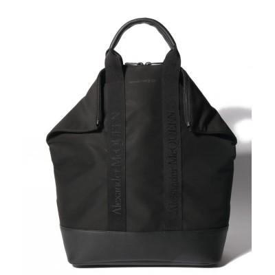 【アレキサンダーマックイーン】 トートバッグ/BACK PACK DE MANTA メンズ ブラック F Alexander McQueen