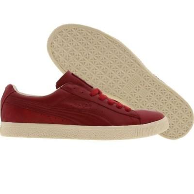プーマ Puma メンズ スニーカー シューズ・靴 Clyde Luxe rubis