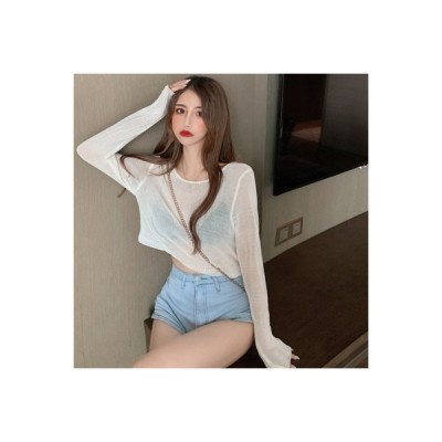 【送料無料】秋 韓国風 ティーヘッジ ニット 単一色 何でも似合う 着やせ 着やせ   364331_A63547-1707228